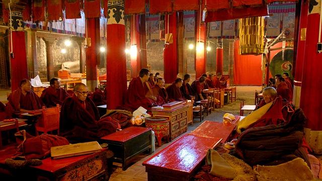 budhisti v Tibetu
