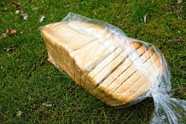 zabalený chléb