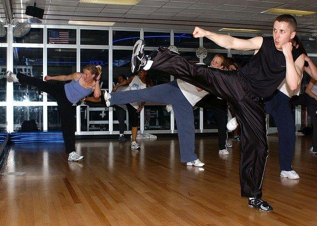 výcvik kickboxu