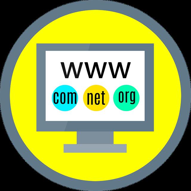doména webové stránky