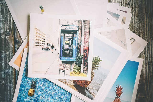 vytištěné obrázky